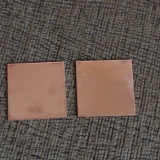 Set Placute termice cupru 42x42mm, grosime 1, 2mm, transfer termic ridicat pentru SONY PS3 PS360 - Cooler laptop