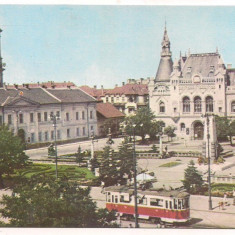#carte postala(ilustrata) -ORADEA-centrul vechi - Carte Postala Crisana dupa 1918, Necirculata, Printata