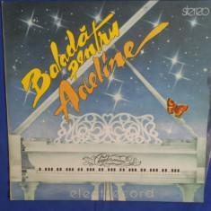 {DISC VINYL} CLAYDERMAN - BALADA PENTRU ADELINE (vinil, ELECTRECORD) - Muzica Clasica