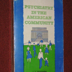 Psychiatry in The American Community - H.G. Whittngton - Carte Psihiatrie