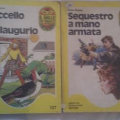 LOT 2 CARTI IN LIMBA ITALIANA - Carte in italiana