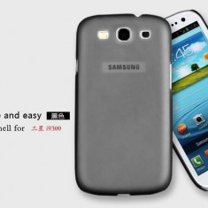 Husa ULTRA SLIM MATA 0.5mm Samsung Galaxy S3 i9300 Black