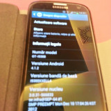 Vand Samsung Galaxy S3 Impecabil ! - Telefon mobil Samsung Galaxy S3, 16GB, Neblocat, Quad core, 1 GB, 2G & 3G