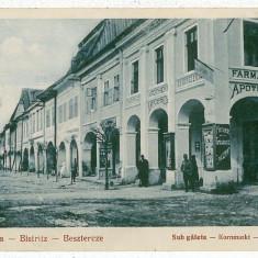 39 - BISTRITA, farmacia - old postcard - unused - 1929