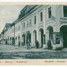 39 - BISTRITA, farmacia - old postcard - unused - 1929