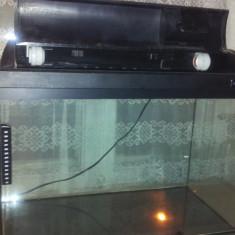 Acvariu Light Glo + capac original + accesorii - 72L