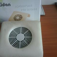 Vand lampa si aspirator pentru unghii cu gel - Lampa uv unghii
