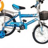 """Bicicleta Copii ALEX albastru 16"""" OFERTA, Numar viteze: 1"""