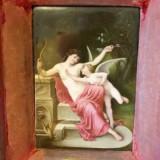 L amour desarme, Cupidon disarmed, cermica, portelan - Arta Ceramica