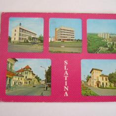 RC - SLATINA 2 - Carte Postala Oltenia dupa 1918, Circulata, Fotografie