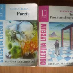 u9 Lucian Blaga - Poezii / Teatru. Proza autobiografica (2 volume)