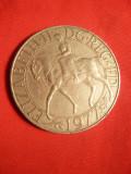 Moneda Comemorativa 25 Pence Elisabeta I -Jubileul Argint ,Cu-Ni ,cal.F.Buna, Europa