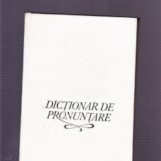 DICTIONAR DE PRONUNTARE - Dictionar sinonime