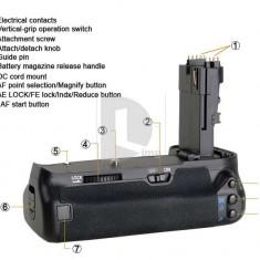 Vand Grip NOU pentru Canon EOS 60D BG-E9 LP-E6