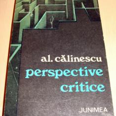 Perspective Critice - Al. Calinescu