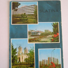 RC - SLATINA 3 - Carte Postala Oltenia dupa 1918, Circulata, Fotografie