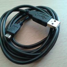 Cablu USB tata A - micro USB tata B 1, 5m / Incarcator usb - micro usb - Cablu de date