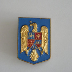 BIRM1 - MILITARA - STEMA ROMANIEI - Insigna
