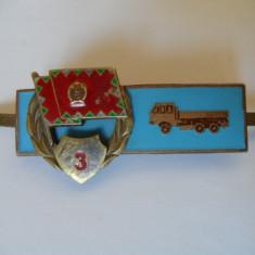 INSIGNA MILITARA MAGHIARA CLS.3 AUTO ANII 70