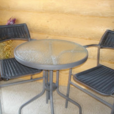 Vand seturi Bistro elegante de 2 persoane - Set gradina