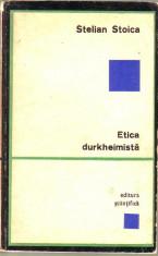 Stelian Stoica-Etica durkheimista foto
