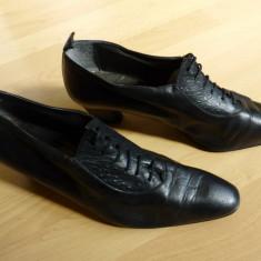 Pantofi piele naturala Exquisit; 26.3 cm talpic interior; stare excelenta - Pantof dama, Culoare: Din imagine, Marime: Alta, Cu talpa joasa