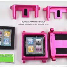 Carcasa roz pink rama aluminiu pentru Lunatik iPod Nano 6th generation carcasa, Altele
