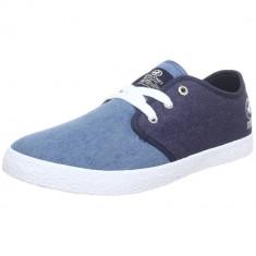 42_Adidasi Originali JACK and JONES_din panza_albastru_in cutie - Adidasi barbati Jack & Jones, Textil