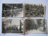 Cumpara ieftin REDUCERE 20 LEI! 4 FOTOGRAFII WW II CU MILITARII GARNIZOANEI PREDEAL 1942