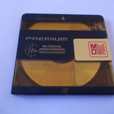 MINI DISC SONY PREMIUM 74 MIN, - Carcasa DVD