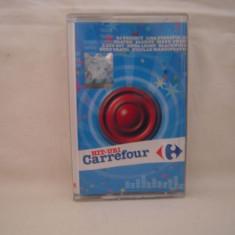 Vand caseta audio Hit-uri Carrefour,selectie romaneasca,originala, Casete audio, nova music