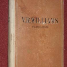 Pedologie V.R. Williams - Carte Biologie