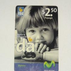 Cartela telefonica - ARTA - copil - EL SALVADOR - 2+1 gratis pt produse la pret fix - CHA1345 - Cartela telefonica straina
