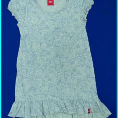DE FIRMA → Rochie / rochita vara, bumbac, ESPRIT → fete | 6 - 8 ani | 122-128 cm, Marime: Alta, Culoare: Gri