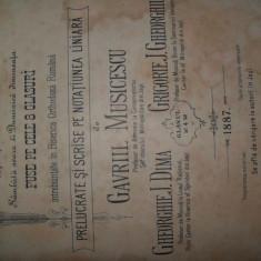 ANASTASIMATARIU - GAVRIL MUSICESCU, GHEORGHE DIMA Grigorie Gheorghiu, - Carti bisericesti