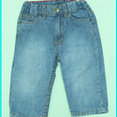 FIRMA → Pantaloni blugi, subtiri, talia reglabila, H&M→ baieti | 12 luni | 74 cm, Alta