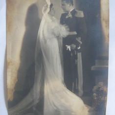 FOTOGRAFIE MARE(24X17, 5 CM) CU OFITER REGAL AVIATIE GINERE DIN ANII 30 - Fotografie veche