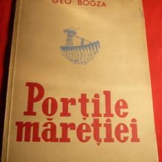 Geo Bogza - Portile Maretiei - Ed.1951 ,ilustratii Ligia Macovei