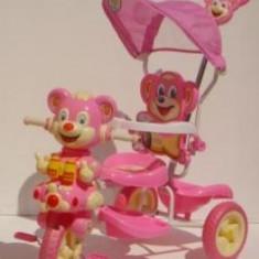 Triciclete Copii Ursulet roz - Tricicleta copii