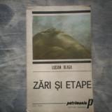 ZARI SI ETAPE - LUCIAN BLAGA C287 - Filosofie