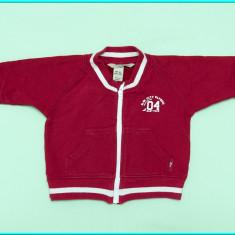DE FIRMA, CA NOU _ Hanorac bumbac, rosu, marca H&M _ copii | 2 - 4 luni | 62 cm, Marime: Alta, Unisex