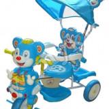 Triciclete Copii Ursulet Albastru Si roz