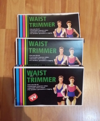 Centura neopren Waist Trimmer reglabila pentru slabit / brau / centura lombara foto