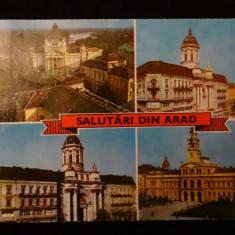 RPR - Salutari din Arad - Carte Postala Crisana dupa 1918
