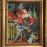 Tablou - ulei pe panza / 36x28 cm - Pictor roman