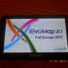 GPS EVOLIO N550, Toata Europa