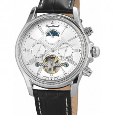 Ceas de lux Engelhardt Cederic Steel Silver, original, nou, cu factura si garantie! - Ceas barbatesc Engelhardt, Lux - elegant, Mecanic-Automatic, Otel