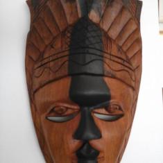 Masca de lemn - Masca carnaval