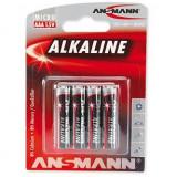 Baterii Ansmann Alkaline Micro AAA red-line (4 buc)