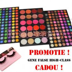 Trusa Machiaj profesionala 192 culori Fraulein38 cu paleta ruj/Corector + CADOU
